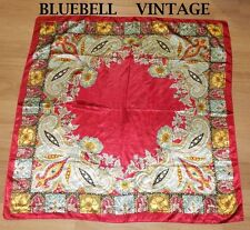 Polyester Paisley Vintage Scarves & Shawls