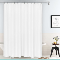 """NEW Deluxe Heavyweight  Shower Curtain Liner with Metal Grommets 70""""X 72"""" NEW"""