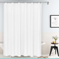 """NEW Deluxe  Shower Curtain Liner Heavyweight with Metal Grommets 70""""X 72"""" NEW"""
