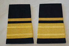Canadian Fire 1/2 Half Bar and Thick Band Gold Shoulder Slip Ons Pair