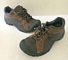Keen Women's US 9 EU 39.5 Hiking Sneakers Athletic Shoes 0508 Brown Leather