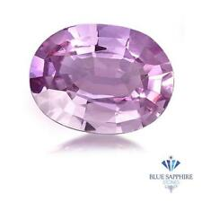 0.88 ct. Unheated Oval Natural Pink Sapphire ~ 7 x 5 mm