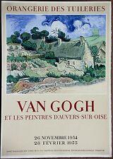 Van Gogh 1st Print Ltd Ed Original Mourlot Stone Lithograph 22in X 30in 1954