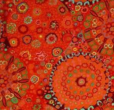 MILLEFIORE~Kaffe Fassett~Westminster~Tomato Orange ~ Rowan ~   Fabric ~ 1/2 yard