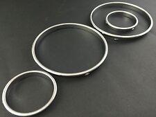 E38 E39 E53 Silver Cluster gauge Dashboard ring speedo Trim instrument BMW M5 X5