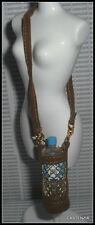 ACCESSORY LOT  BARBIE DOLL MILLICENT ROBERTS FAUX SUEDE HOLDER & WATER BOTTLE
