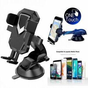 Universal Windshield Mount Car Holder Cradle For Smart Mobile Phone GPS
