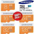 GENUINE SAMSUNG Micro SD Card EVO Class 10 UHS-1 8GB 16GB 32GB 64GB 128GB