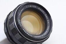 [8 ELEMENT] ASAHI PENTAX SUPER TAKUMAR 50mm F/1.4 from japan #7771