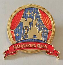 "Disneyland Paris - Cast Member - Exclusive 'Discovering Magic"" Tour Pin"
