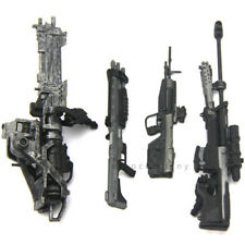 4Pcs Guns weapon accessory for Marksman Sniper Rifle Machine Turret Figure toy