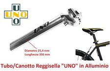 Tubo/Canotto ReggiSella UNO in Alluminio D 25,4mm per bici 26-28 Corsa Strada