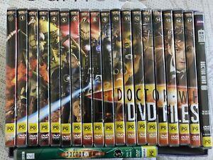 Doctor Who DVD Set Magazine 1-17 + Bonus DVDs Good Condition