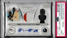 2011 National Treasures Emblems of Hall Auto Shannon Sharpe #4 Prime Jersey /15