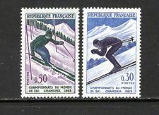 France 1962 SLALOM AND DOWNHILL SKIING  MNH SC 1019-20