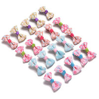20 Pcs Kids Bow Hairpin Girls Hair Accessories Hair Clips for Party Dress LJ