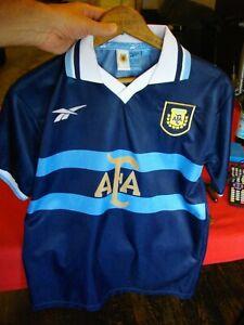 ARGENTINA Futbol Soccer JERSEY 2007 Camiseta Seleccion OFFICIAL REEBOK SMALL