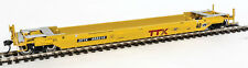 Walthers Proto HO Scale Gunderson Rebuilt 40' Well Car TrailerTrain DTTX #455216