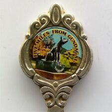 Five Miles From Gundagai Tucker Box Souvenir Spoon Teaspoon (T112)