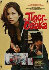 ZERO WOMAN RED HANDCUFFS German A1 movie poster MIKI SUGIMOTO SUKEBAN 1974