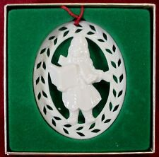 Lenox china Christmas Ornament Figurine Caroler in box