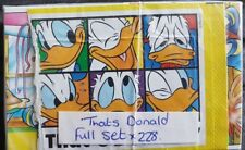 THAT'S DONALD, FULL SET OF STICKERS X228