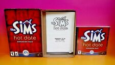 Sims: Hot Date Expansion Pack (PC, 2001) Game Complete with Key Code on case
