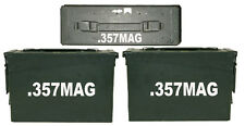 ".357 mag  ammo box(DECALS) two 6""x 1.5"" one 3""x0.75"" NO BOX INCLUDED"