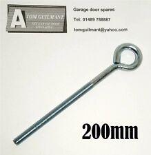 Garage door spares retractable door spring eye bolt 10mm eyebolt 200mm length