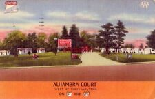 ALHAMBRA COURT KNOXVILLE, TN On U.S. 11 and 70 Leroy Fooshee - Owner 1955