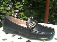 $70 NICKELS SOFT Wolf Loafers ~ NEW Black Leather 6