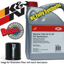 Triumph Sprint ST 955cc SSSA 2001 K&N Filter & 4L Fully Synthetic Oil