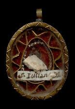 old relic theca S.IULIANAE M. 19Th.
