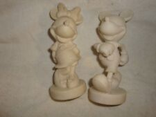 Disney's All White Mickey and Minnie figures 005