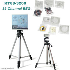 Digital 32-channel EEG Machine & Mapping System Brain electric+Tripods,KT88-3200