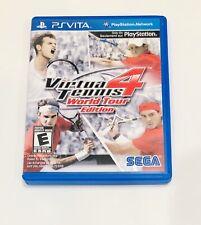 Virtua Tennis 4 World Tour Edition PlayStation Vita PS VITA W/ Case Ships Fast