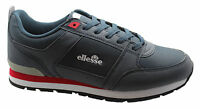 Ellesse Fabbiano D Runner Mens Low Lace Up Running Trainers Navy 5510041.29Y WH