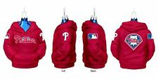 "Kurt Adler 4.5"" Philadelphia Phillies Glass Hoodie Sweatshirt Ornament"