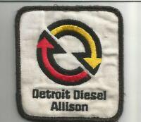 DETROIT DIESEL ALLISON Advertising patch 3-1/4 X 3-1/2 #5057