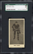 "1933 V129 #46 ""Bun"" Cook (HOF, New York Rangers) Rookie Card - SGC 96 MINT!"