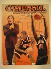 CAMPBELL University Men's Basketball 2005-2006 Media Guide (Near Mint Condition)