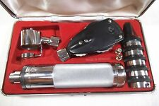 Vintage Varifocal, Germany Otoscope Ophthalmoscope set in Original Case