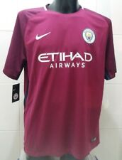 Nike Mens Manchester City 17 18 Away Replica S s Football Shirt XL 7bf720e4b