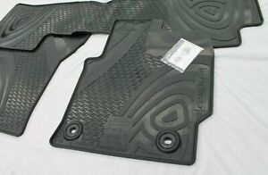 TOYOTA COROLLA FLOOR MATS RUBBER SET HATCH FROM JUNE 2018 AUTO TRANSMISSION