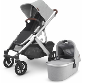 UPPAbaby Vista V2 Stroller and Bassinet  - Stella Grey