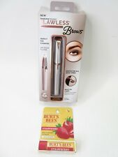 Finishing Touch Flawless Brows Hair Removal PLUS Burt's Bees Strawberry Lip Balm