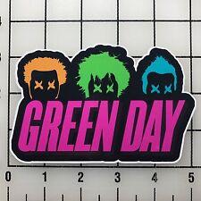 "Green Day 5"" Wide Multi-Color Vinyl Decal Sticker - BOGO"