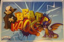 "Skylanders Imaginators ""Beat Kaos!"" Mini Poster #3 11.25"" L x 7.25"" W"