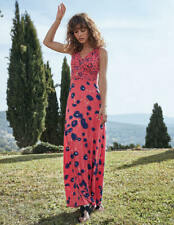 Boden Georgia Maxi Dress in Pink Sunset Floral Meadow Jersey women size 10UK 6US