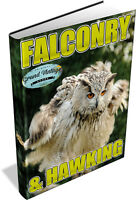 FALCONRY & HAWKING COLLECTION - 35 VINTAGE BOOKS ON DVD - birds of prey, falcon